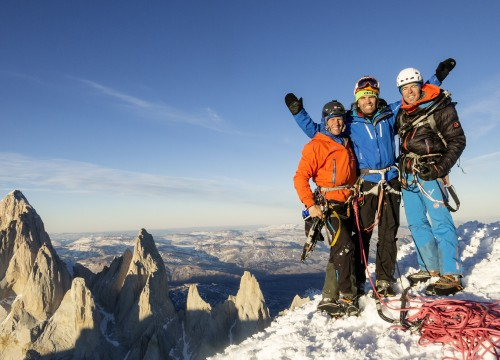 Just a normal working Week - The West Face of Cerro Torre