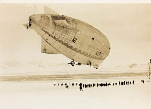 The Flight of the Airship 'Norge' over the Arctic Ocean